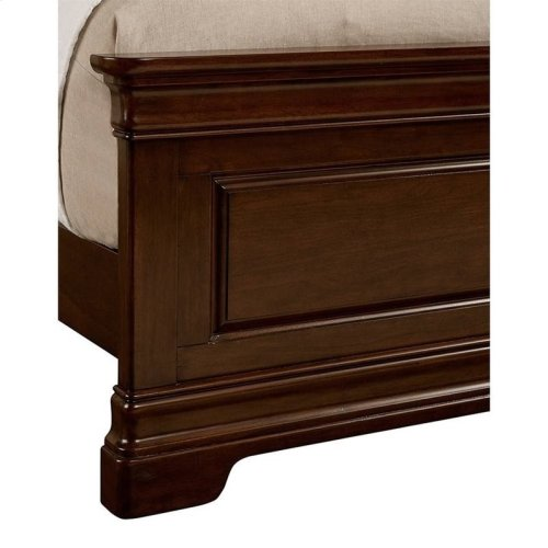 Teaberry Lane Midnight Cherry Full Panel Bed