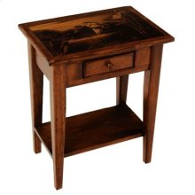 "#242 Ann's Side Table 19.5""wx13""dx22.5""h"