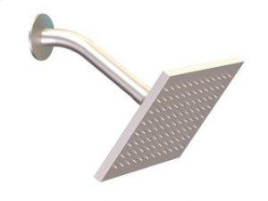 Shower Rainhead Wall Mount, Angled Arm - Brushed Nickel Product Image