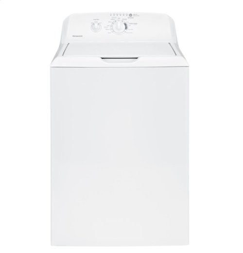 Hotpoint® 3.8 DOE cu. ft. capacity stainless steel basket washer