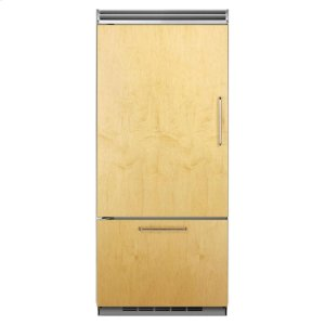 "MarvelProfessional Built-In 36"" Bottom Freezer Refrigerator - Panel-Ready Solid Overlay Door - Left Hinge*"