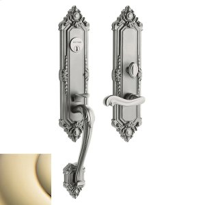 Lifetime Polished Brass Kensington Entrance Trim Product Image