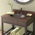 "24"" Sedona Vanity Top Bathroom Sink Product Image"