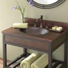 "24"" Sedona Vanity Top Bathroom Sink"