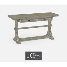 Rustic Grey Serving Table