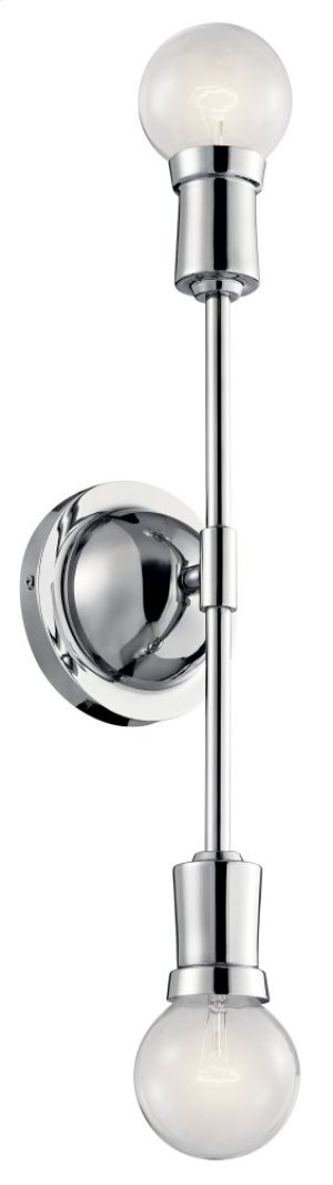 Armstrong Wall Sconce Chrome