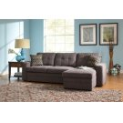 Gus Casual Charcoal Sectional Product Image