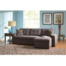 Gus Queen Sleeper Sectional with Storage Chaise