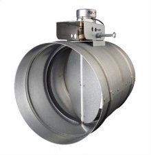"""10"""" Automatic Make-Up Air Damper - Direct Wire"""