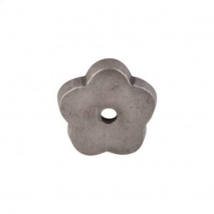 Aspen Flower Backplate 1 Inch - Silicon Bronze Light