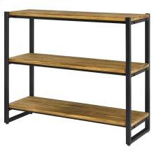 Anderson KD 3 Tier Bookcase, Brown