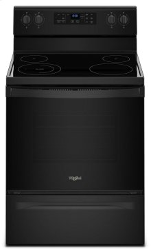 5.3 cu. ft. Freestanding Electric Range with Adjustable Self-Cleaning