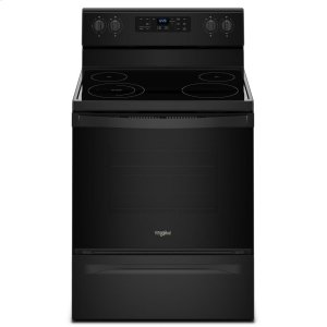 Whirlpool5.3 cu. ft. Freestanding Electric Range with Adjustable Self-Cleaning