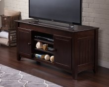 Nantucket 50 inch Entertainment Console with Adjustable Shelves in Espresso