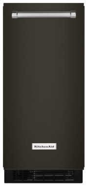 15'' Automatic Ice Maker - Black Stainless Product Image