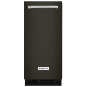 KITCHENAID15'' Automatic Ice Maker - Black Stainless