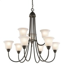 Nicholson Collection Chandelier 9Lt OZ