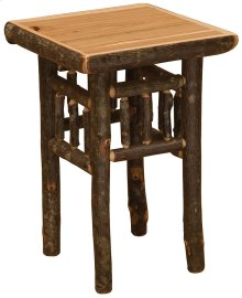 Open Nightstand Rustic Maple
