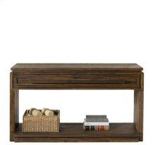 Modern Gatherings Console Table Brushed Acacia finish