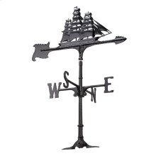 "30"" Clipper Accent Weathervane"