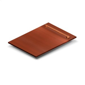 """Zline Kitchen18"""" Dishwasher Panel in Copper with Traditional Handle (DP-C-H-18)"""