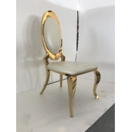 Kendall Contemporary Gold Dining Chair