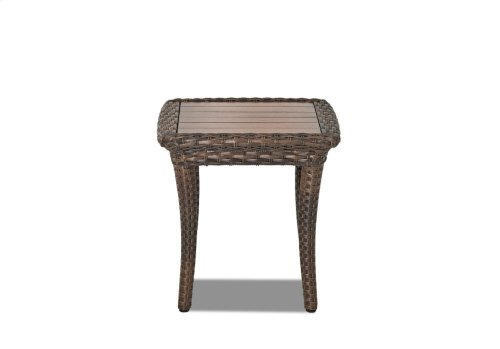 Sycamore Square End Table