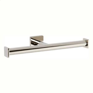 Polished Nickel Double Toilet Tissue Holder