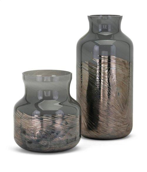 Montag Small Art Glass Vase
