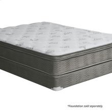 "Queen-Size Aleksa 11"" Euro Top Mattress (non-flip)"