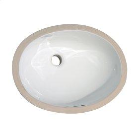 Rosa 570 Undercounter Basin - White