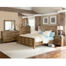 5 PC Bedroom - Queen Bed, Dresser, Mirror