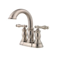 Brushed Nickel Hanover Centerset Bath Faucet