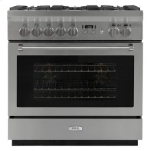 "AGA Professional 36"" Dual Fuel Self Cleaning Range"