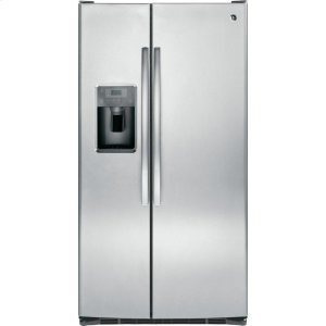 GE® ENERGY STAR® 25.3 Cu. Ft. Side-By-Side Refrigerator - STAINLESS STEEL