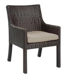 Arm Dining Chair (2 /ctn)-sun-spectrum Sand #48019