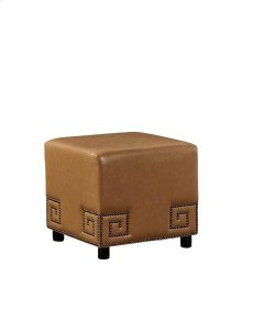 Meander Tan Ottoman Product Image