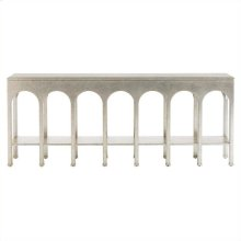Crestaire - Brooks Console Table In Argent