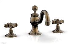 MARVELLE Widespread Faucet 162-01 - Antique Brass