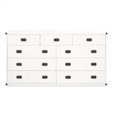 Bradley 9-Drawer Media Dresser