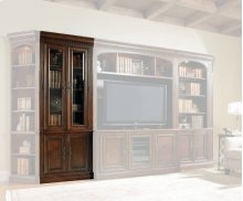 European Renaissance II Glass Door Bookcase