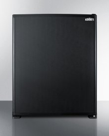 Silent Solid State Compact Minibar In Black