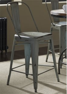 Bow Back Counter Chair - Green30
