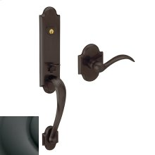 Oil-Rubbed Bronze Boulder 3/4 Escutcheon Handleset