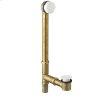 Universal Bath Drain - Polished Brass PVD