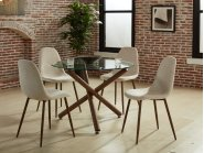 Rocca/Lyna 5pc Dining Set Product Image