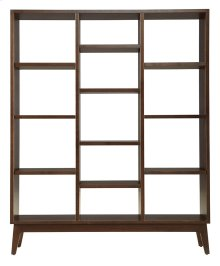 Serra Triple Bookcase