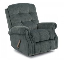 Mackenzi Fabric Swivel Gliding Recliner without Nailhead Trim