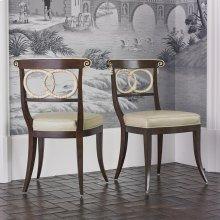 Dolphin Chair - Walnut / Ivory