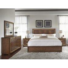 Chrystelle King Bedroom Set: King Bed, Nightstand, Dresser & Mirror